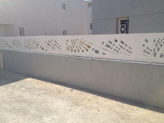 d coupage laser d coration clotures facade porte portail garde corps. Black Bedroom Furniture Sets. Home Design Ideas